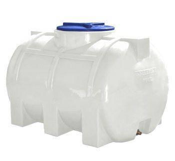 Бак, бочка, емкость 350 литров усиленная для транспортировки пищевая горизонтальная 300 400 RGО, фото 2