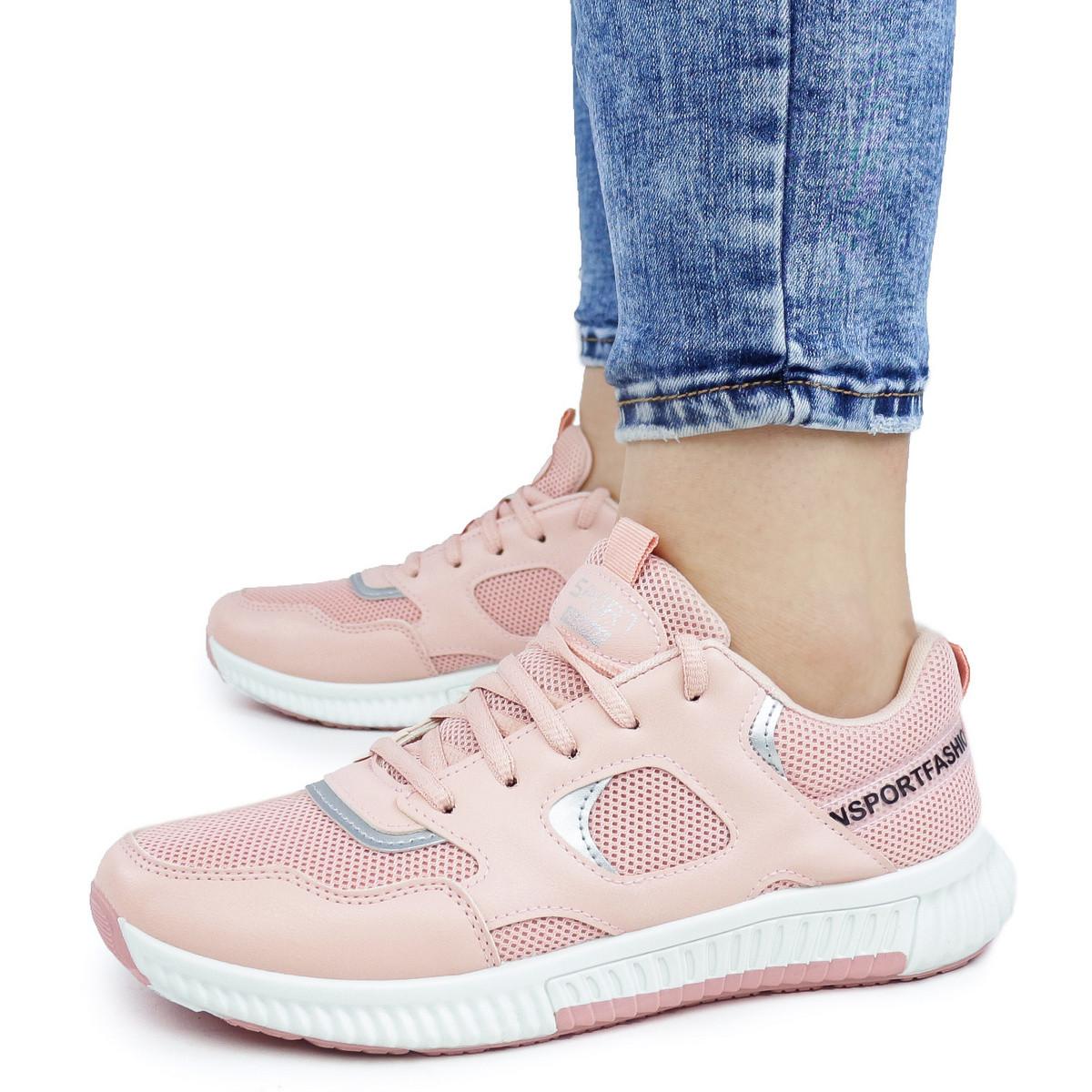 Женские кроссовки Dual розовые демисезонные 37 р. - 24,5 см (1340884077)
