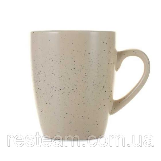 Чашка 350 мл кераміка граніт бежевий