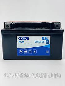 Мото аккумулятор EXIDE ETX7A-BS 6Ah