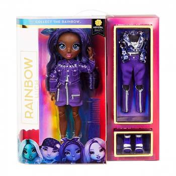 Оригінальна лялька Крістал Бейлі Rainbow High S2 з аксесуарами (572114EUC)