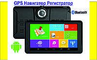 """GPS Навигатор Регистратор Планшет Авто-регистратор 7"""" Android WiFi"""