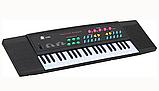 Пианино-синтезатор 3738 с микрофоном, сеть/батарейки, 44 клавиши, фото 2