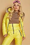 Костюм зимовий чорний жіночий куртка  та штани лижні Монклер, фото 7