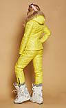 Костюм зимовий чорний жіночий куртка  та штани лижні Монклер, фото 9