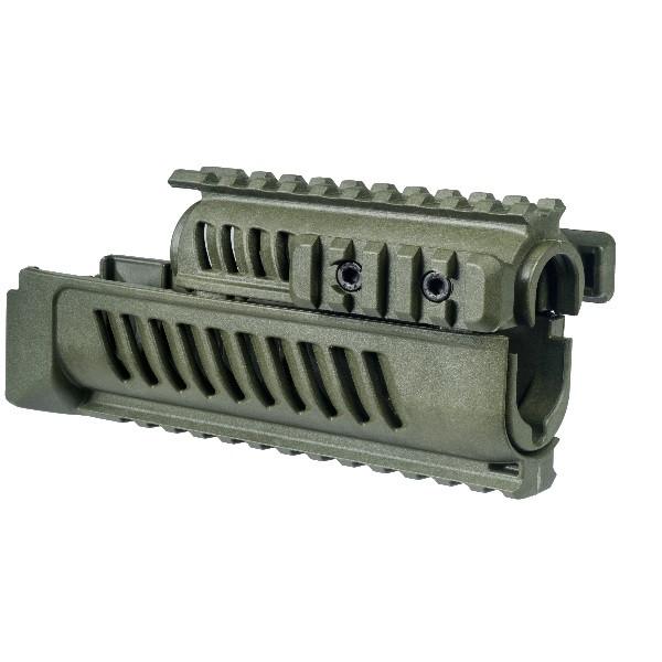 Цівка для АК47/74 тактичне 4 планки AK47 Fab Defence