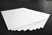 ПВХ лист белый полумат 1500х3000х 0.55 мм, НДС, Налож платеж ФОП