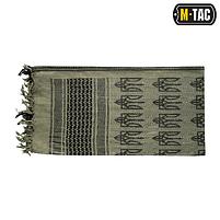 Шемаг Арафатка с тризубом Foliage Green/Black, фото 3