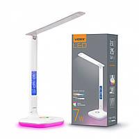 LED настільна лампа VIDEX TF05W-RGB 7W 3000-5500K