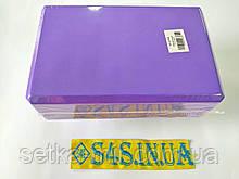 Блок для йоги двухцветный FI-1714, цвета в ассортименте Фиолетовый