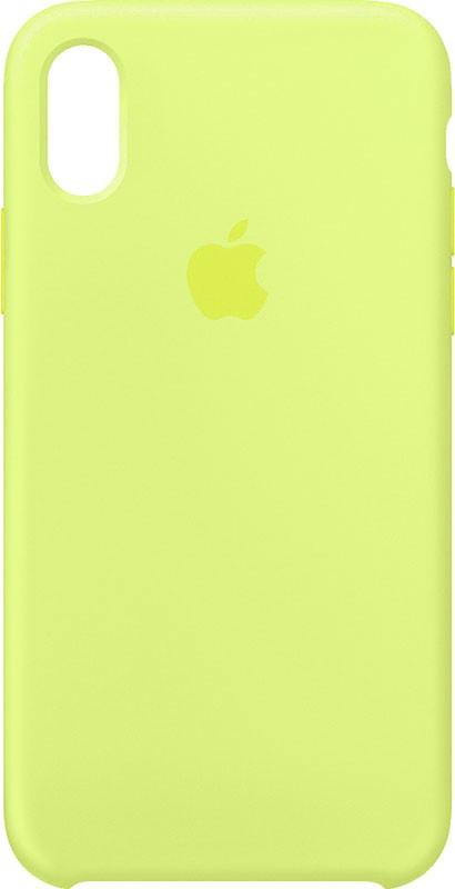 Чехол-накладка TOTO Silicone Case Apple iPhone XR Yellow #I/S
