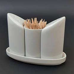 Набор для специй Helfer (соль/перец/зубочистки) 21-04-131