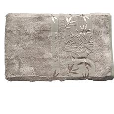 Набор полотенец Cestepe Bamboo 50х90, 70х140 серо-бежевый, фото 3
