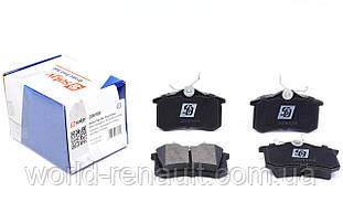 SOLGY (Испания) 209109 - Комплект задних тормозных колодок Рено Меган 3, Рено Флюенс