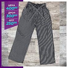 Жіночі літні брюки, капрі чорні