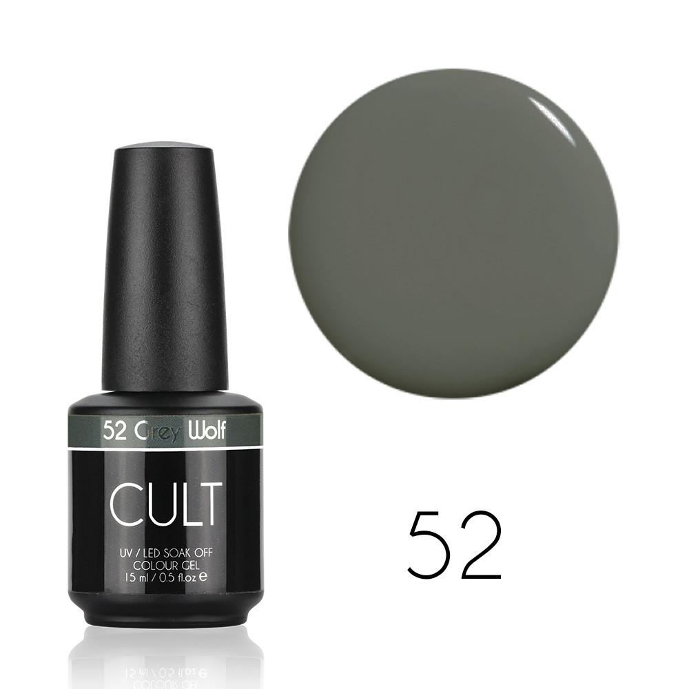 CULT Гель лак CULT №52 Grey Wolf 15 мл