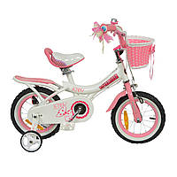 "Велосипед RoyalBaby JENNY GIRLS 14 "", OFFICIAL UA, білий"