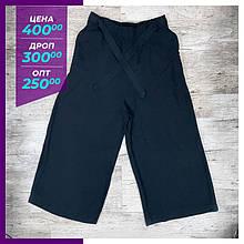Жіночі літні брюки, капрі чорний