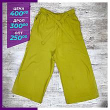 Жіночі літні брюки, капрі салатовий