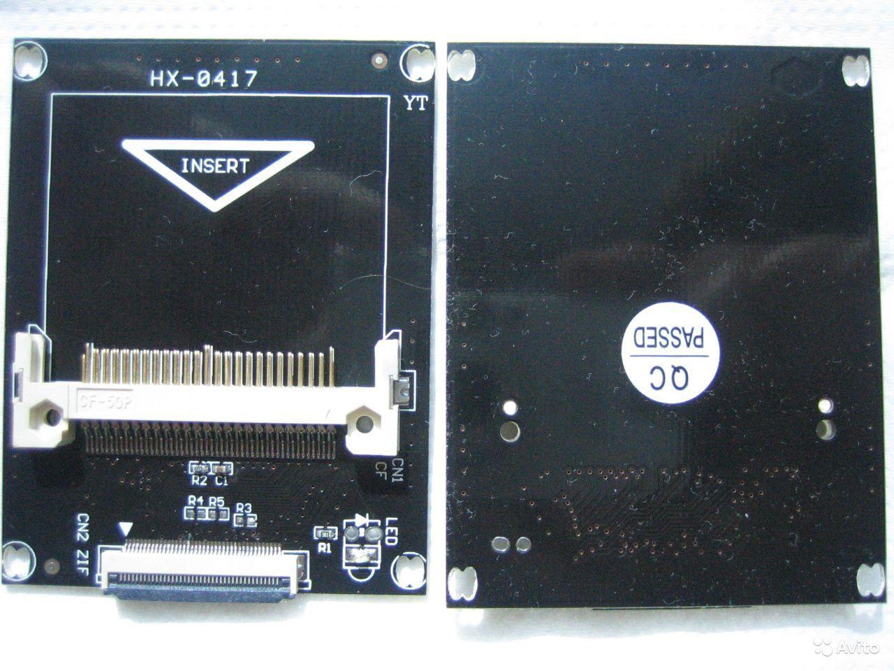 Переходник Compact Flash CF - ZIF 1.8 IDE