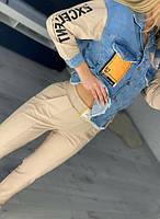 Женский спортивный костюм с джинсом, фото 1