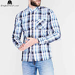 Рубашка мужская Lee Cooper из Англии - в клетку, фото 4