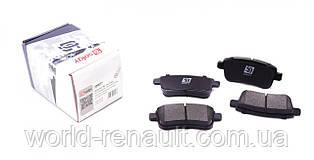 SOLGY (Испания) 209077 - Комплект задних тормозных колодок (электро ручник) Рено Меган 3, Рено Флюенс