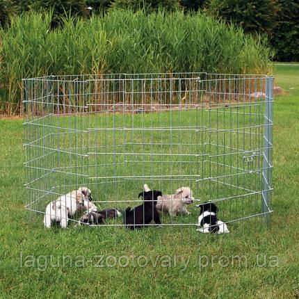 Вольер переносной с дверью 8/60х91см для собак и др. мелких животных , фото 2
