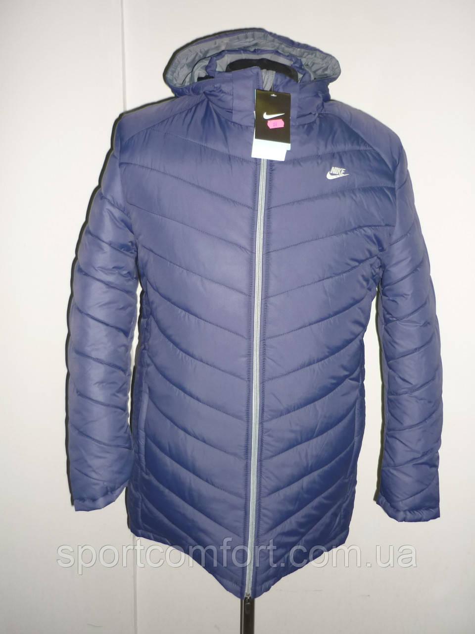c98cbf03 Куртка Nike синяя 28 зима, цена 600 грн., купить Суми — Prom.ua (ID ...