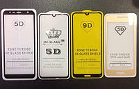Стекло Full Glue 5D Samsung A30/A305, Black (техпак)