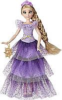 Модна лялька Принцеса Рапунцель в спідниці з виявляється принтом
