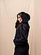 Женский плюшевый спортивный костюм кофта с капюшоном/штаны, фото 6