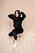 Женский плюшевый спортивный костюм кофта с капюшоном/штаны, фото 5