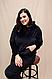 Женский плюшевый спортивный костюм кофта с капюшоном/штаны, фото 2