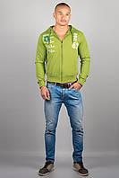 Мужская толстовка Olis Style Зеленый
