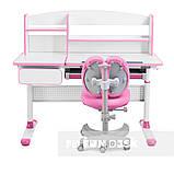 Комплект для принцеси 👸 парта Cubby Rimu Pink + ергономічне крісло FunDesk Solerte Pink, фото 3