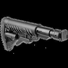 Приклад сложный раздвижной Fab Defence (полимер) для Saiga с амортизирующей прокладкой  M4-SAIGA-SB