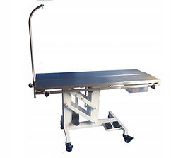 Ветеринарный электрический лечебный операционный стол V-образный