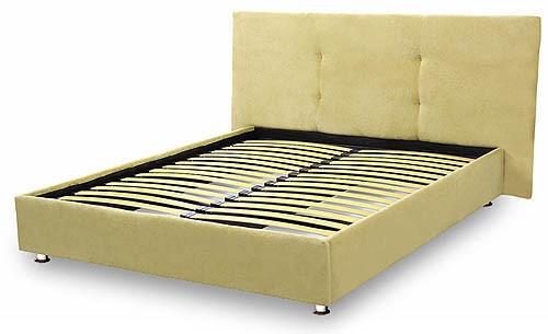 Кровать - подиум с изголовьем №11