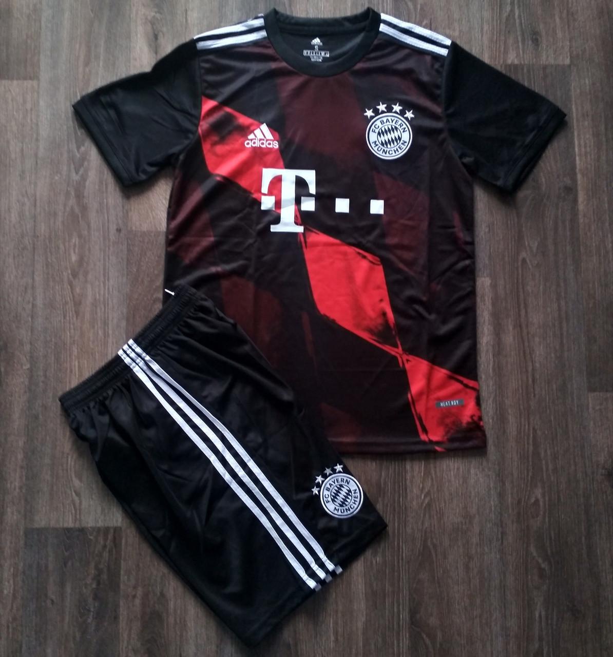 Дитяча футбольна форма Баварія/Bayern ( Німеччина, Бундесліга ), домашня, сезон 2020-2021