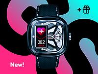 Гибридные смарт часы Smart watch Hybrid 2 Защита от воды 5 ATM