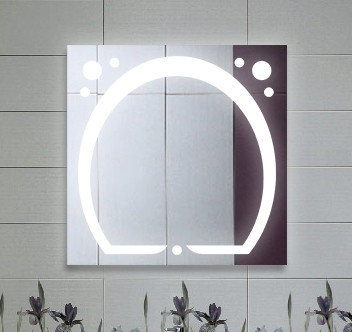Зеркало LED (80*80*2,5см) VZ-AL-D38