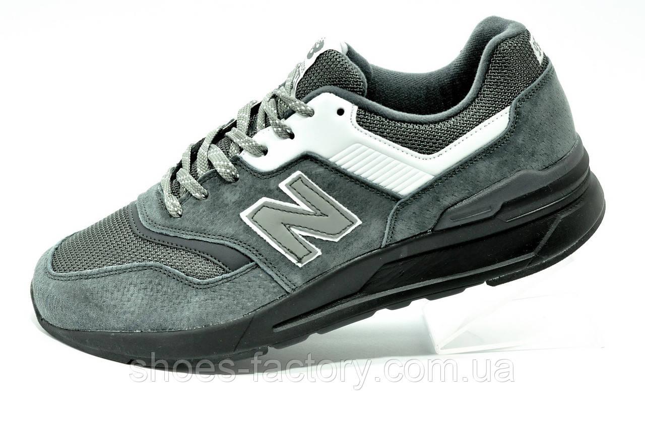 Кроссовки New Balance 997H Gray мужские серые