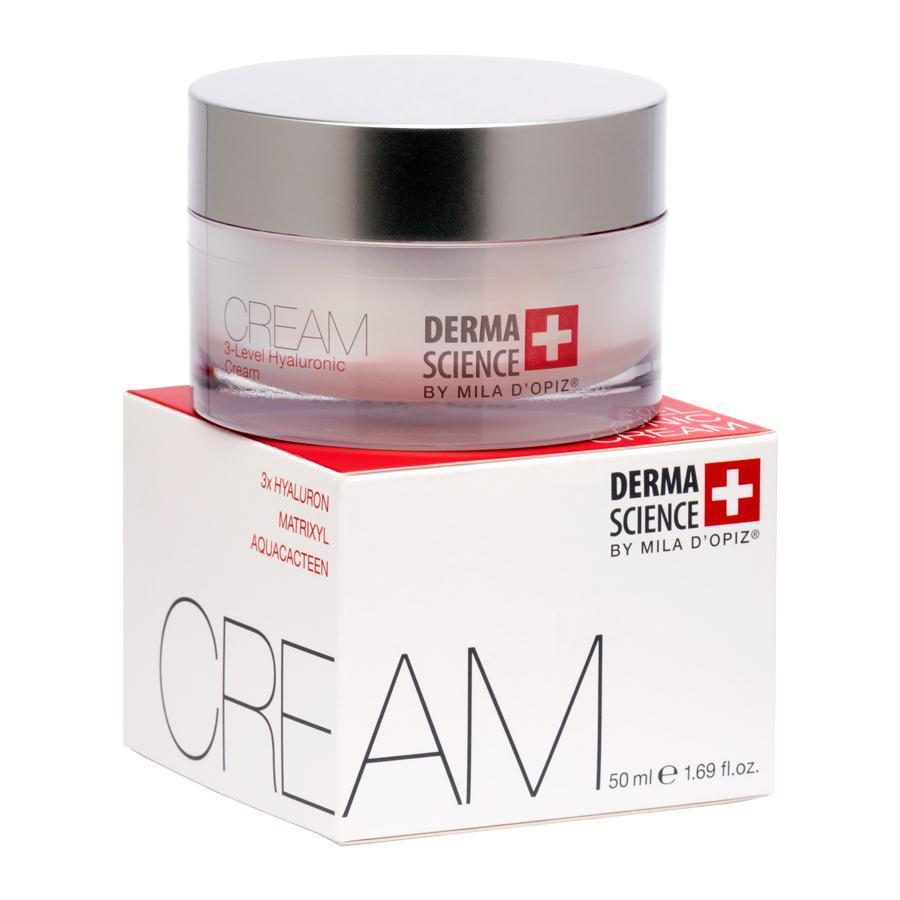Hyalyronic³ Day Cream Derma Science by Mila D`Opiz Vivasan Switzerland 50 ml