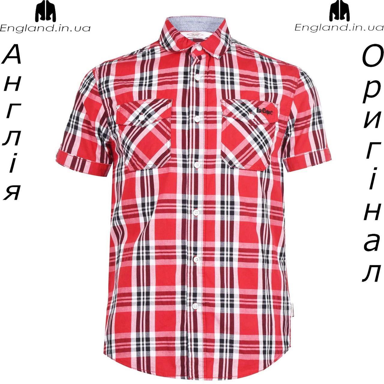 Рубашка мужская Lee Cooper из Англии в клетку