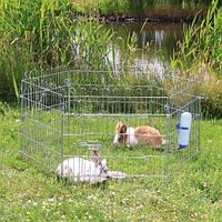 Вольер переносной с дверью 6/60х63см для мелких животных