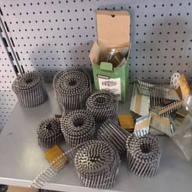 Гвозди для пневмоинструмента типа CNW рифленый в бобине Prebena типа CNW 2,5/50 (10,8 тис. шт.)