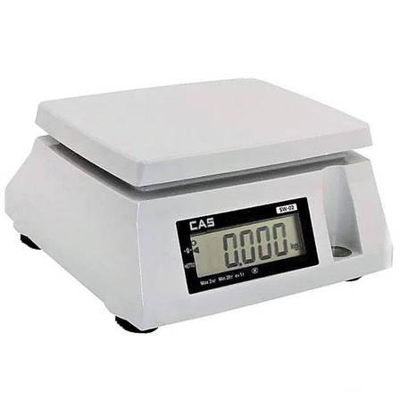 Весы фасовочные CAS SW-D-20 (20 кг), фото 2