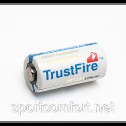 Батарея живлення CR123 Trustfire