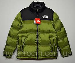 Мужская Зимняя куртка The North Face оливковая